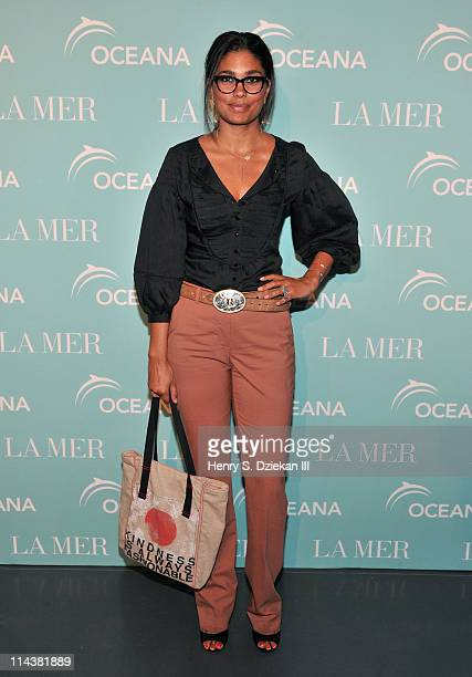 Designer Rachel Roy attends World Ocean Day 2011 celebrated by La Mer and Oceana at Affirmation Arts on May 18 2011 in New York City