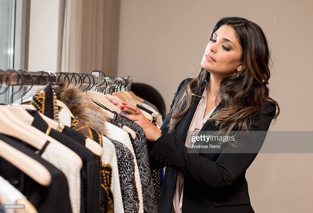 Designer Rachel Roy looks on during a portrait session at east hotel on November 21, 2013 in Hamburg, Germany.