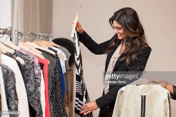 Designer Rachel Roy looks on during a portrait session at east hotel on November 21 2013 in Hamburg Germany