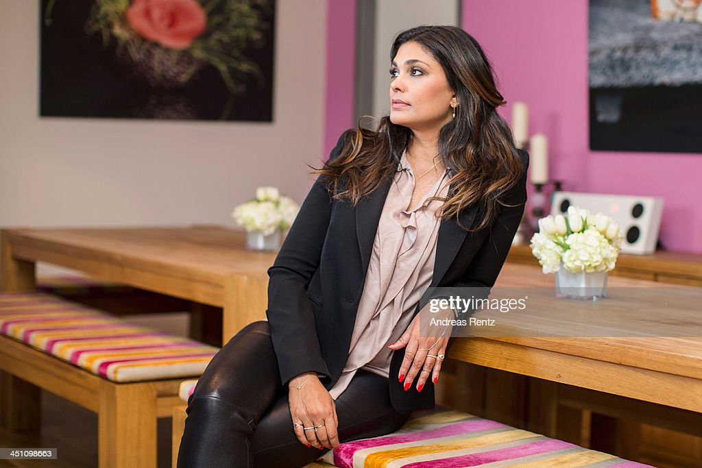 Designer Rachel Roy poses for a portrait during a portrait session at east hotel on November 21, 2013 in Hamburg, Germany.