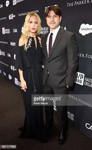 Designer Rachel Zoe and Rodger Berman attend the 6th Annual Sean Penn Friends HAITI RISING Gala Benefiting J/P Haitian Relief Organization at Montage...