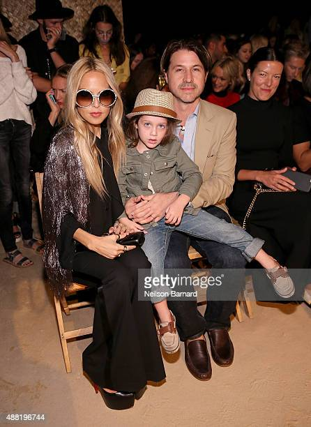 Designer Rachel Zoe and Rodger Berman attend Tommy Hilfiger Women's Spring 2016 during New York Fashion Week The Shows at Pier 36 on September 14...