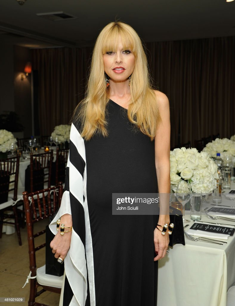 Designer Rachel Zoe attend the relaunch of 'The Zoe Report' Hosted by FIJI Water at the Sunset Tower Hotel on November 20, 2013 in Los Angeles, California.