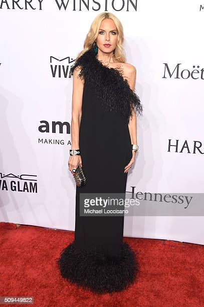 Designer Rachel Zoe attends 2016 amfAR New York Gala at Cipriani Wall Street on February 10 2016 in New York City
