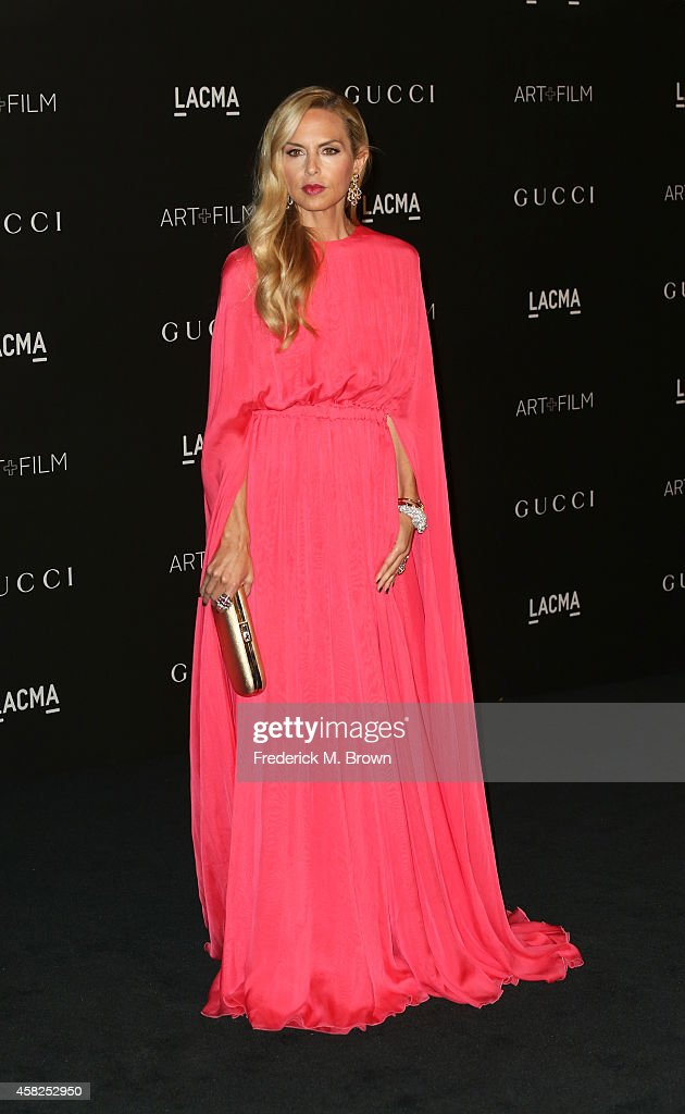 Designer Rachel Zoe attends the 2014 LACMA Art Film Gala honoring Barbara Kruger and Quentin Tarantino presented by Gucci at LACMA on November 1 2014...