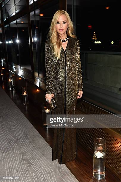 Designer Rachel Zoe attends the 2015 Glamour Women of The Year Awards dinner hosted by Cindi Leive at The Rainbow Room on November 9 2015 in New York...