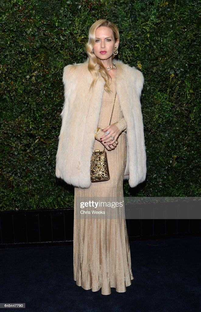 Designer Rachel Zoe attends the Charles Finch and CHANEL Pre-Oscar Awards Dinner at Madeo Restaurant on February 25, 2017 in Beverly Hills, California.