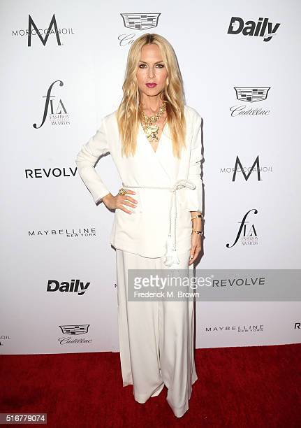 Designer Rachel Zoe attends the Daily Front Row 'Fashion Los Angeles Awards' at Sunset Tower Hotel on March 20 2016 in West Hollywood California