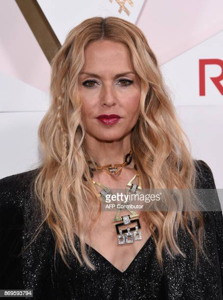 Designer Rachel Zoe attends the first annual #REVOLVEawards at the Dream Hotel in Hollywood on November 2 2017 / AFP PHOTO / CHRIS DELMAS