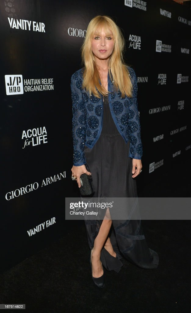 Designer <a gi-track='captionPersonalityLinkClicked' href=/galleries/search?phrase=Rachel+Zoe+-+Stylist&family=editorial&specificpeople=546501 ng-click='$event.stopPropagation()'>Rachel Zoe</a> attends the Giorgio Armani Paris Photo LA event at Mr. Chow on April 25, 2013 in Beverly Hills, California.