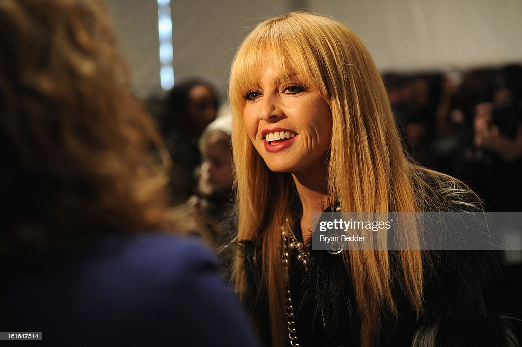 Designer Rachel Zoe seen around during Fall 2013 Mercedes-Benz Fashion Week at Lincoln Center for the Performing Arts on February 13, 2013 in New York City.