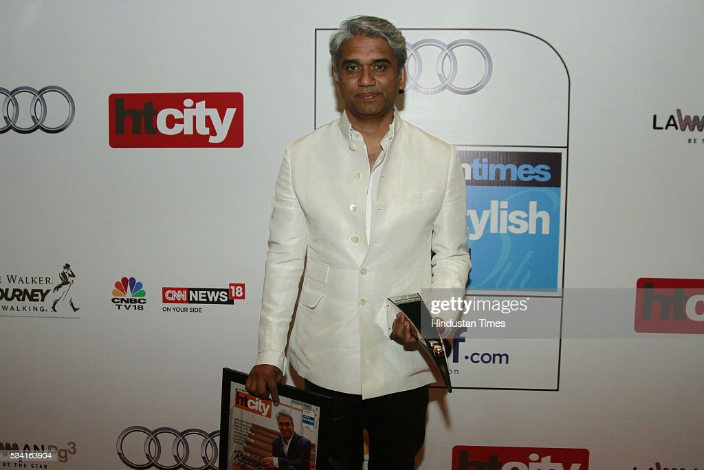Designer Rajesh Pratap Singh at Hindustan Times Most Stylish Awards 2016 at hotel JW Marriot, Aerocity on May 24, 2016 in New Delhi, India.