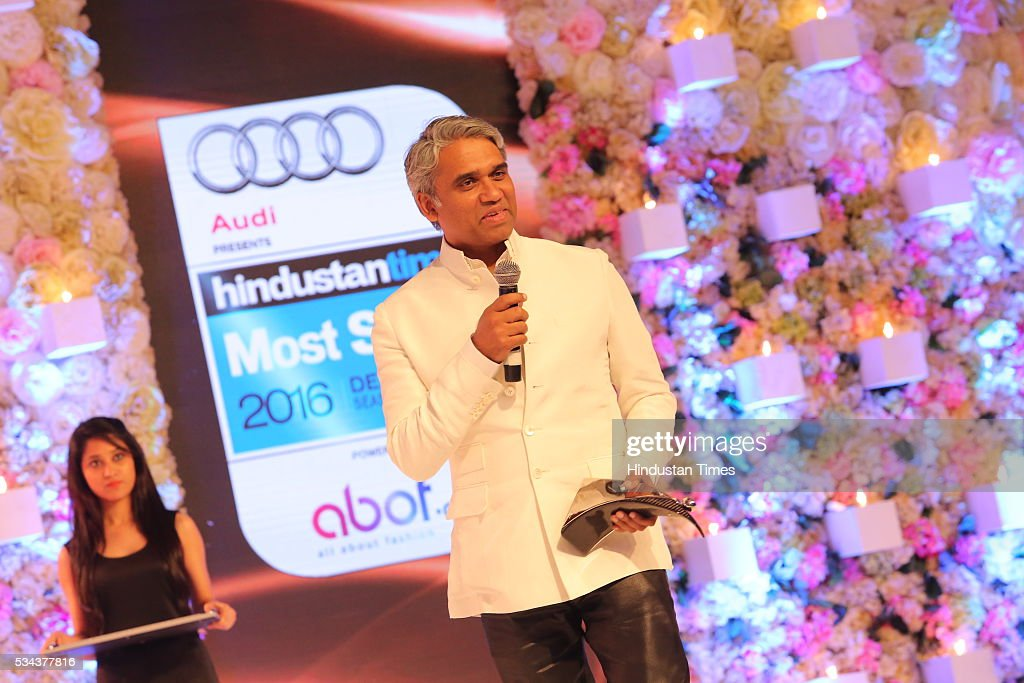 Designer Rajesh Pratap Singh during a sixth edition of Hindustan Times Most Stylish Awards 2016 at Hotel JW Marriot, Aerocity on May 24, 2016 in New Delhi, India.