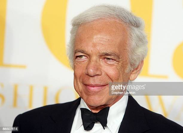 Designer Ralph Lauren attends the 2009 CFDA Fashion Awards at Alice Tully Hall Lincoln Center on June 15 2009 in New York City