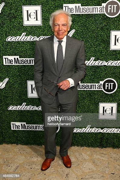Designer Ralph Lauren attends the 2014 Couture Council Award Luncheon Benefit for the Museum at FIT honoring Carolina Herrera at the David H Koch...