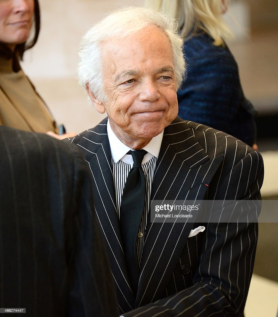 Designer <a gi-track='captionPersonalityLinkClicked' href=/galleries/search?phrase=Ralph+Lauren+-+Fashion+Designer&family=editorial&specificpeople=4442108 ng-click='$event.stopPropagation()'>Ralph Lauren</a> attends the Anna Wintour Costume Center Grand Opening at the Metropolitan Museum of Art on May 5, 2014 in New York City.