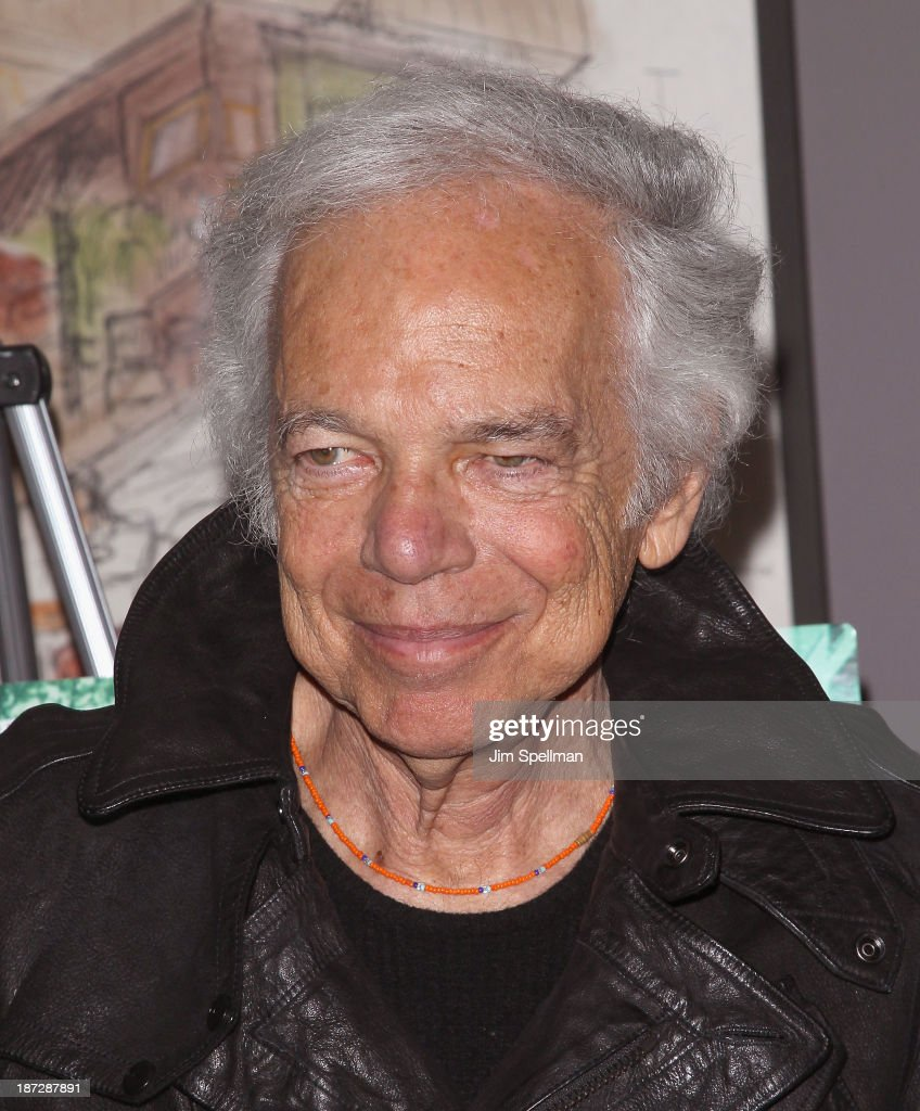 Designer Ralph Lauren attends 'Weekend Of A Champion' Premiere - To Save Project: The 11th MOMA International Festival Of Film Preservation at Museum of Modern Art on November 7, 2013 in New York City.