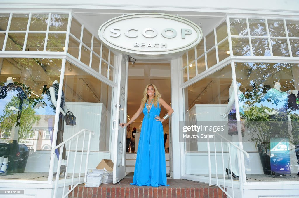 Designer Ramy Sharp attends Scoop Beach celebrates the Ramy Brook Collection on August 3, 2013 in East Hampton, New York.