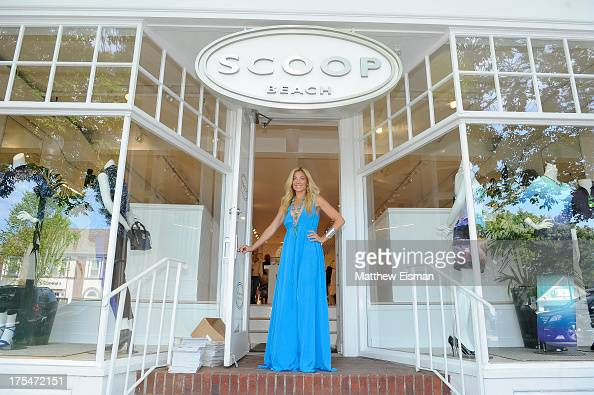 Designer Ramy Sharp attends Scoop Beach celebrates the Ramy Brook Collection on August 3 2013 in East Hampton New York