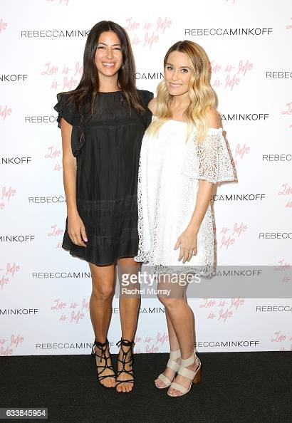 """Designer Rebecca Minkoff and Tv personality Lauren Conrad attended designer Rebecca Minkoff's Spring 2017 """"See Now Buy Now"""" Fashion Show at The Grove..."""