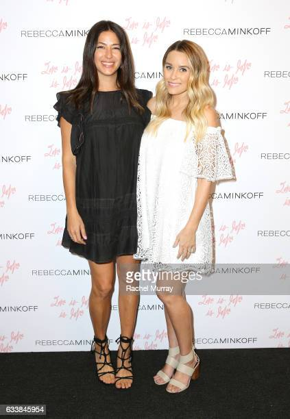 "Designer Rebecca Minkoff and Tv personality Lauren Conrad attended designer Rebecca Minkoff's Spring 2017 ""See Now Buy Now"" Fashion Show at The Grove..."