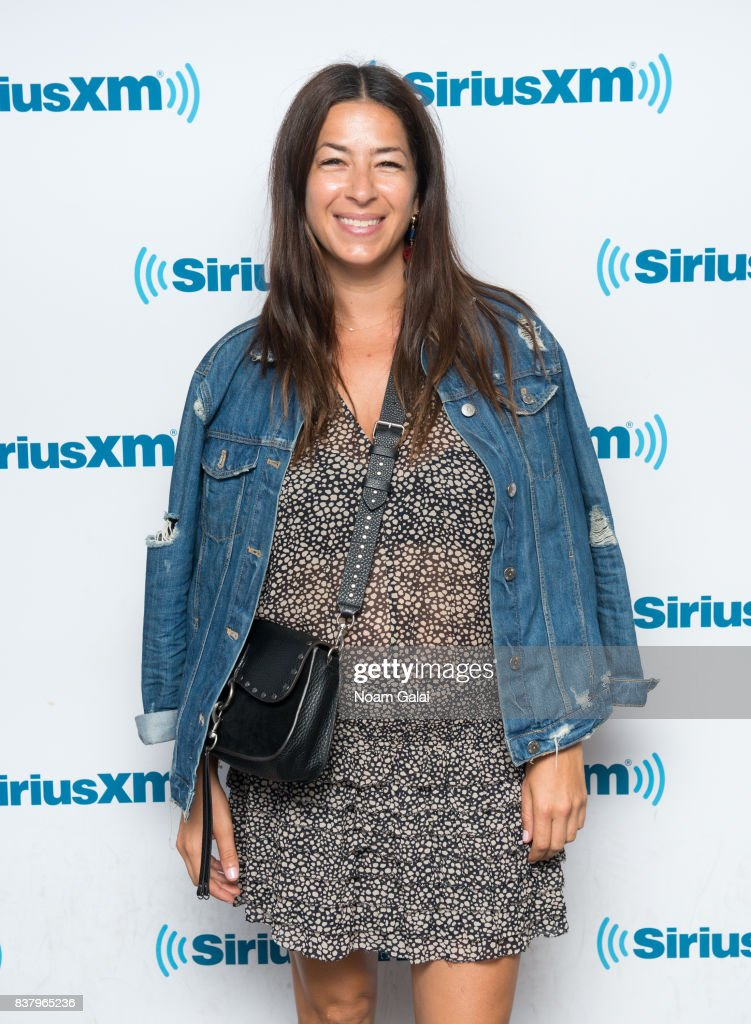 Designer Rebecca Minkoff visits the SiriusXM Studios on August 23, 2017 in New York City.