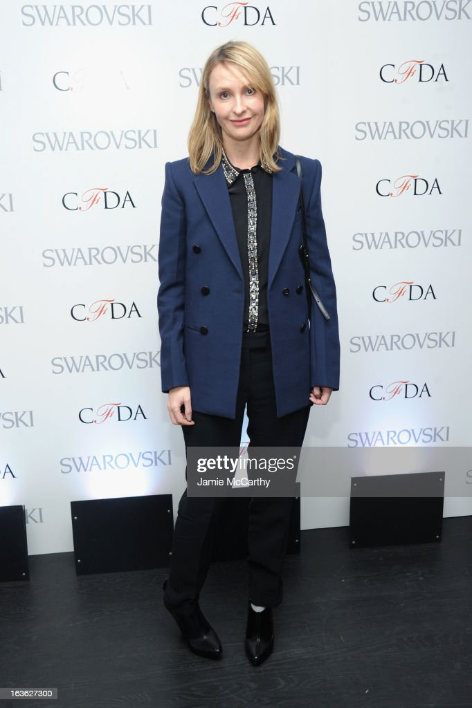 Designer <a gi-track='captionPersonalityLinkClicked' href=/galleries/search?phrase=Rebecca+Taylor+-+Fashion+Designer&family=editorial&specificpeople=4496766 ng-click='$event.stopPropagation()'>Rebecca Taylor</a> attends the CFDA 2013 Awards Nomination event on March 13, 2013 in New York City.
