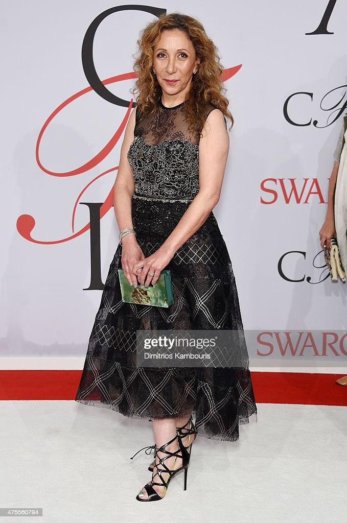 Designer Reem Acra attends the 2015 CFDA Fashion Awards at Alice Tully Hall at Lincoln Center on June 1 2015 in New York City