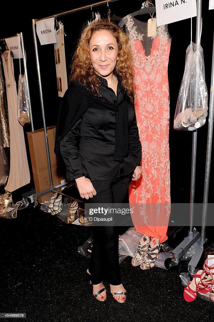 Reem Acra - Backstage - Mercedes-Benz Fashion Week Spring 2015