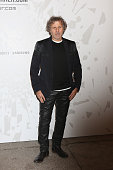 Designer Renzo Rosso attends the The Vogue Talents Corner fashion show during Milan Fashion Week Womenswear Autumn/Winter 2014 on February 19 2014 in...