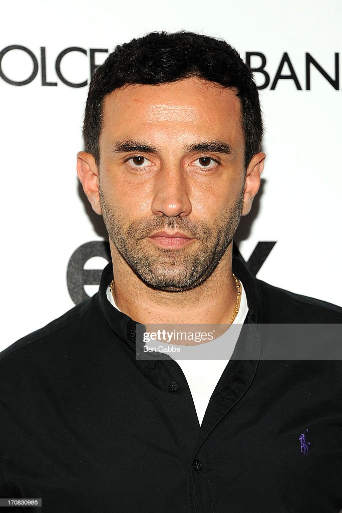 Designer <a gi-track='captionPersonalityLinkClicked' href=/galleries/search?phrase=Riccardo+Tisci&family=editorial&specificpeople=2214975 ng-click='$event.stopPropagation()'>Riccardo Tisci</a> attends the Dolce & Gabbana and The Cinema Society screening of the Epix World premiere of 'Madonna: The MDNA Tour' at The Paris Theatre on June 18, 2013 in New York City.