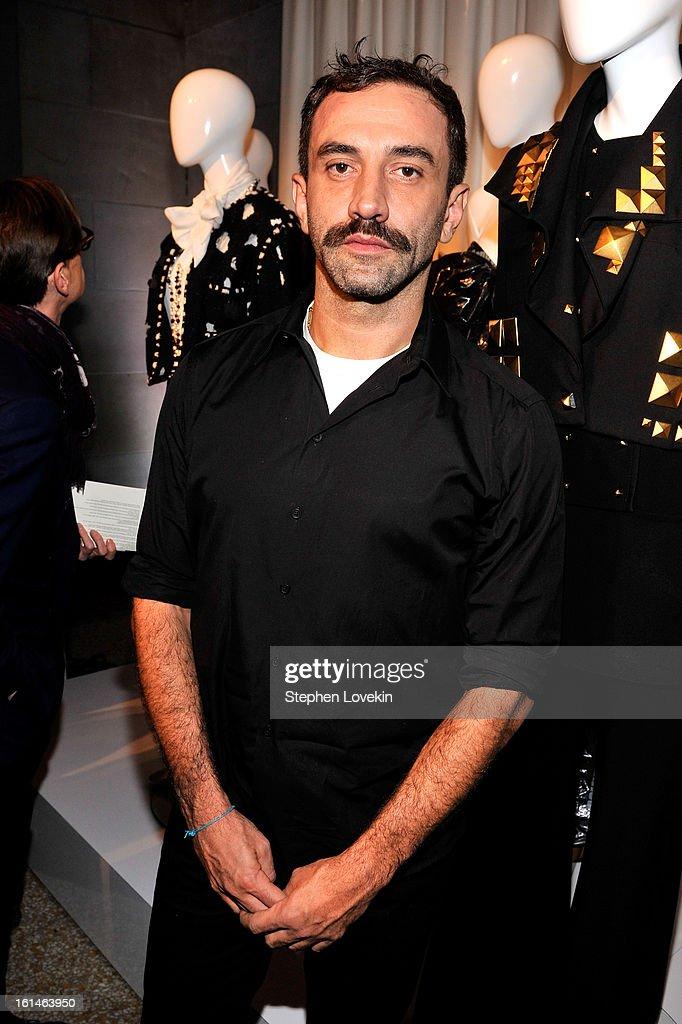 Designer Riccardo Tisci attends the