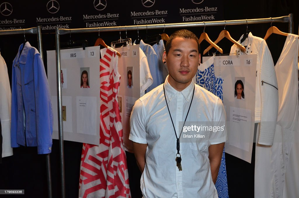 Designer Richard Chai attends the Richard Chai -- Love & Richard Chai Men's show during Spring 2014 Mercedes-Benz Fashion Week at The Stage at Lincoln Center on September 5, 2013 in New York City.