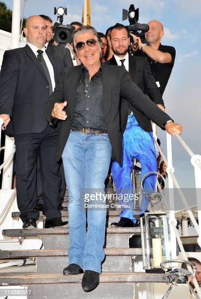Designer Roberto Cavalli attends the Cavalli Boutique Opening during the 64th Annual Cannes Film Festival on May 18 2011 in Cannes France