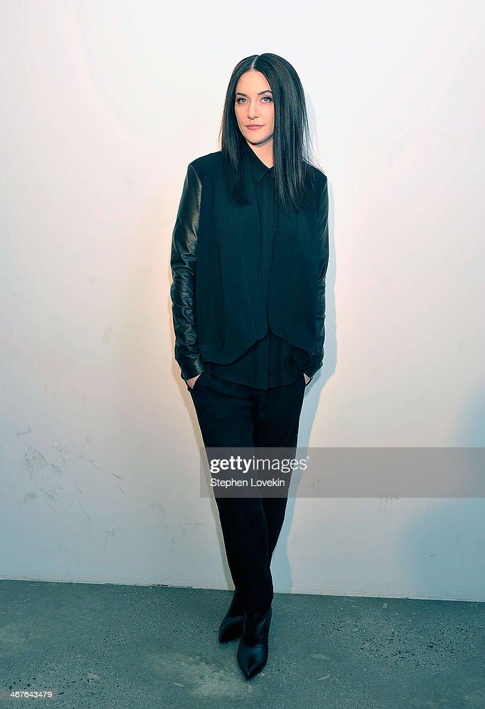 Black dress designer lapointe
