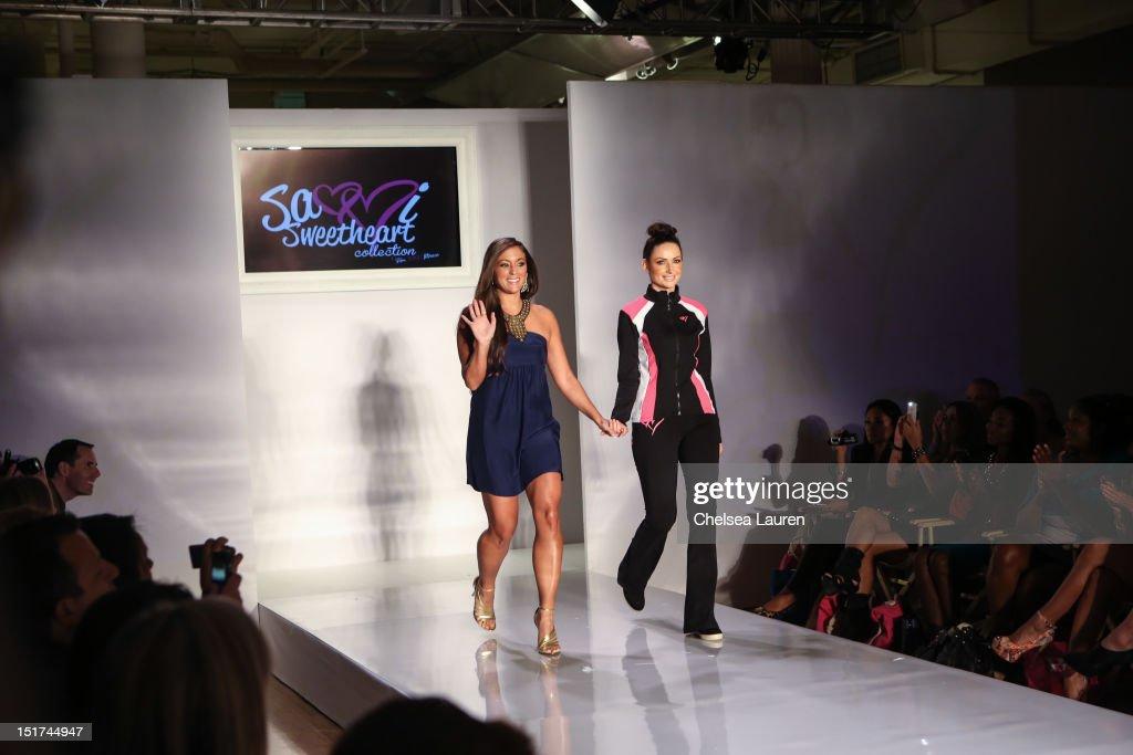 Designer Sammi Giancola attends Sammi Sweetheart Spring 2013 at the Metropolitan Pavilion on September 10 2012 in New York City