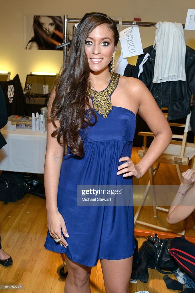Sammi Sweetheart Front Row And Backstage Spring 2013 Style360 Getty Images