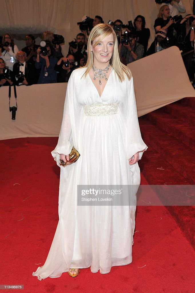 Designer Sarah Burton attends the 'Alexander McQueen: Savage Beauty' Costume Institute Gala at The Metropolitan Museum of Art on May 2, 2011 in New York City.