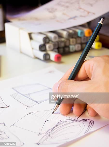 Designer Scribbling
