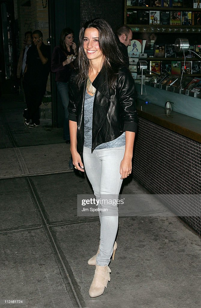 Designer Shoshanna Lonstein attends the Cinema Society and Lancome screening of 'Rachel Getting Married' at the Landmark Sunshine Theater on September 25, 2008 in New York City.