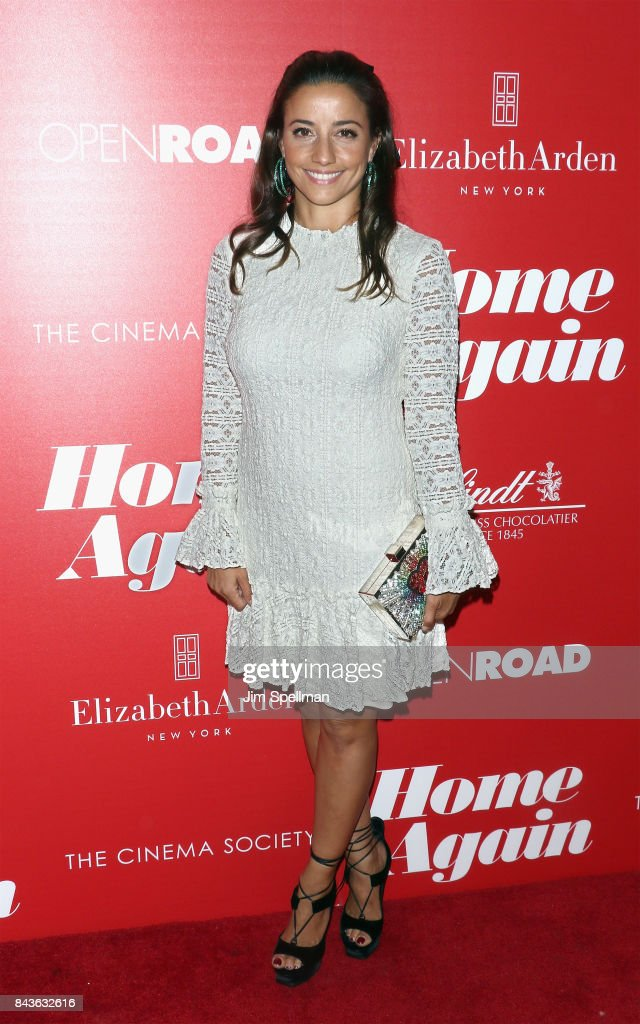 Designer Shoshanna Lonstein Gruss attends the screening of Open Road Films' 'Home Again' hosted by The Cinema Society with Elizabeth Arden and Lindt Chocolate at The Paley Center for Media on September 6, 2017 in New York City.