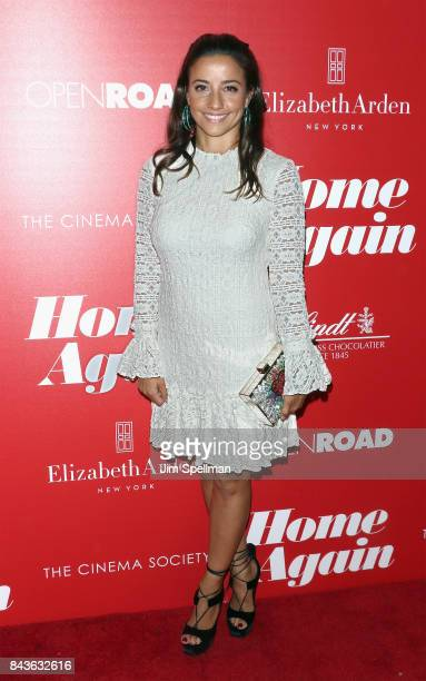 Designer Shoshanna Lonstein Gruss attends the screening of Open Road Films' 'Home Again' hosted by The Cinema Society with Elizabeth Arden and Lindt...