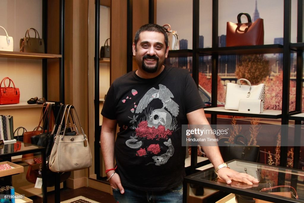 designer coach bags 8wi1  Designer Siddartha Tytler during the launch of iconic New York design label  'Coach' store