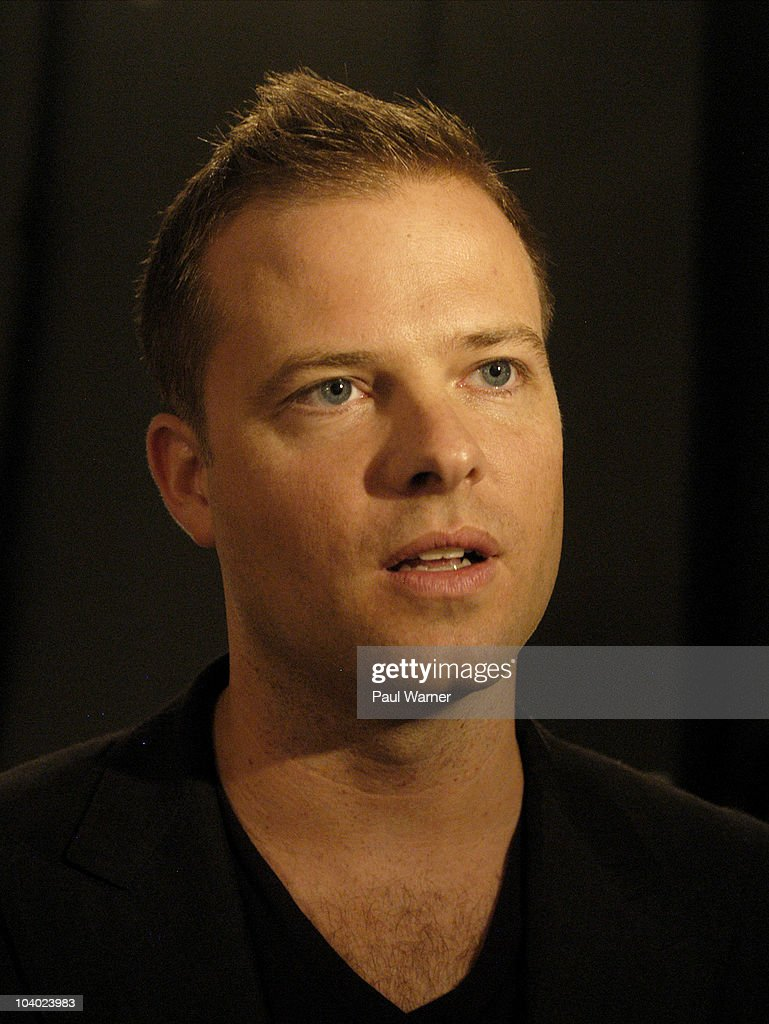 Designer Simon Spurr attends the Simon Spurr Spring 2011 fashion show during Mercedes-Benz Fashion Week at Exit Art on September 12, 2010 in New York City.