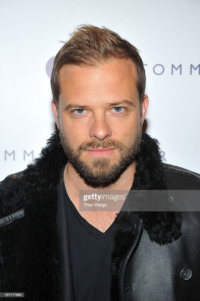 Designer Simon Spurr attends the Tommy Hilfiger & GQ celebrate Men of New York at the 5th Avenue Flagship on November 29, 2012 in New York City.
