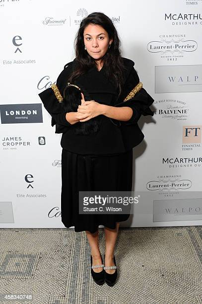 Designer Simone Rocha attends the Walpole British Luxury Awards 2014 at the Victoria Albert museum on November 3 2014 in London England