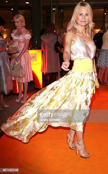 Designer Sonja Kiefer during the SIXT fashion dinner at Nockherberg on March 24 2015 in Munich Germany