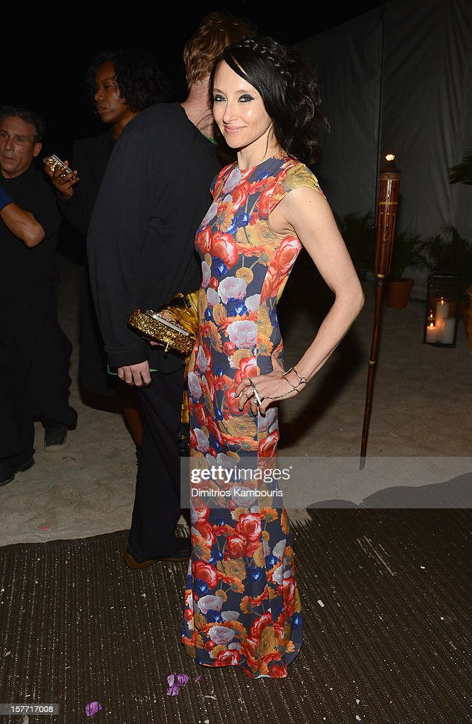 Designer Stacey Bendet attends a Beachside Barbecue presented by CHANEL hosted by Art.sy Founder Carter Cleveland, Larry Gagosian, Wendi Murdoch, Peter Thiel and Dasha Zhukova at Soho Beach House on December 5, 2012 in Miami Beach, Florida.