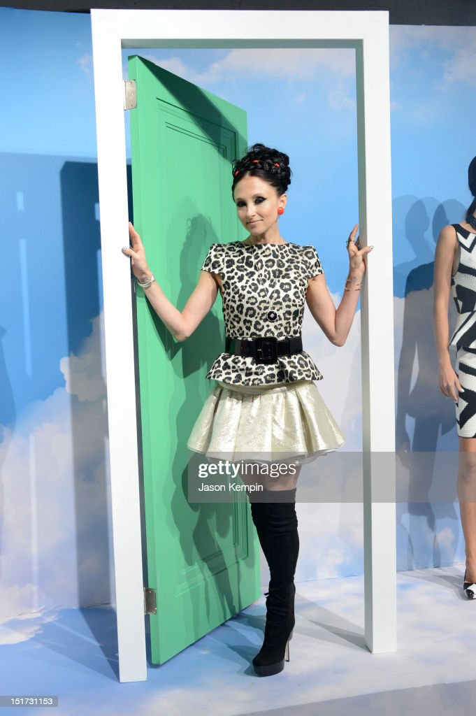 Designer Stacey Bendet attends Alice + Olivia By Stacey Bendet Spring 2013 Mercedes-Benz Fashion Week at Century 548 on September 10, 2012 in New York City.