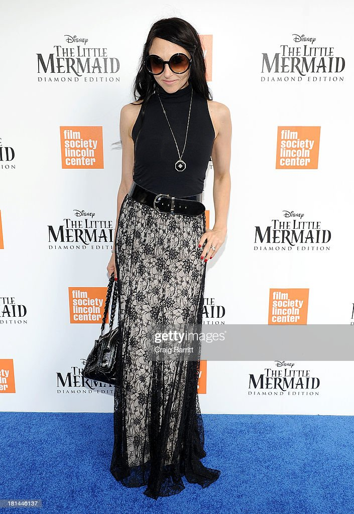 Designer <a gi-track='captionPersonalityLinkClicked' href=/galleries/search?phrase=Stacey+Bendet&family=editorial&specificpeople=821847 ng-click='$event.stopPropagation()'>Stacey Bendet</a> attends Disney's The Little Mermaid special screening at Walter Reade Theater on September 21, 2013 in New York City.